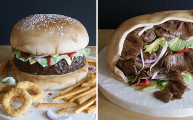 Je to kebab, burger alebo len sladká a chutná torta? Laura pečie koláče pre radosť a ľudia nechápu, ako to robí