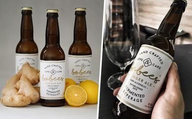 Je to kvasené, nie je to pivo, no ani alkohol. Spoznaj slovenský zázvorový nápoj Bobees