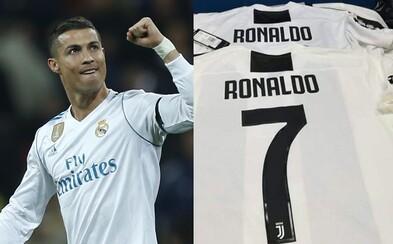Cristiano Ronaldo přestupuje do Juventusu Turín!