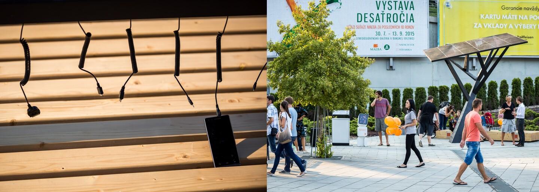 Je toto strom budúcnosti? Koruna zo solárnych panelov a kmeň zo železa. Ekostrom namiesto tvorby kyslíka nabíja smartfóny