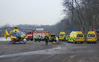 Jeden z chlapců, který se topil pod ledem v Žamberku, zemřel