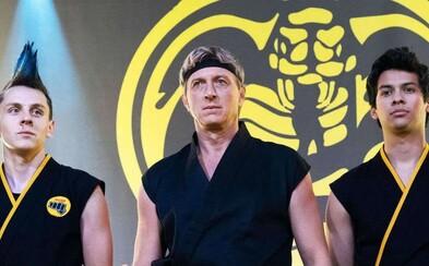 Jeden z nejlepších seriálů posledních let se vrací s 3. sérií. Cobra Kai zavítá na Netflix už v lednu