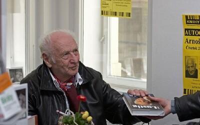 Jeden z našich nej spisovatelů Arnošt Lustig: Jaké zkušenosti udělají ze spisovatele filozofa?
