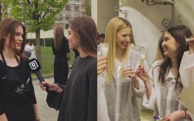 Jedenásť najkrajších Sloveniek v jednom videu. S finalistkami Miss Slovensko sme zisťovali, ako sa pripravuje obľúbené šumivé víno Hubert
