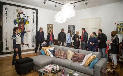 Jedinečná slovenská galéria súčasného umenia Flatgallery sa nachádza v byte. Priestor dáva hlavne novým talentom (Rozhovor)