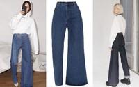 Jedna nohavice úzká, druhá široká. Designérská dvojice z Ukrajiny nabízí asymetrické džíny za 8 tisíc