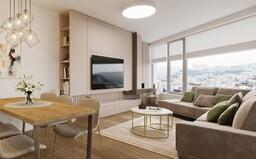 Jedna z najlukratívnejších novostavieb odhaľuje ďalšie bývanie snov. Tentoraz v znamení elegancie a jemných kávových odtieňov