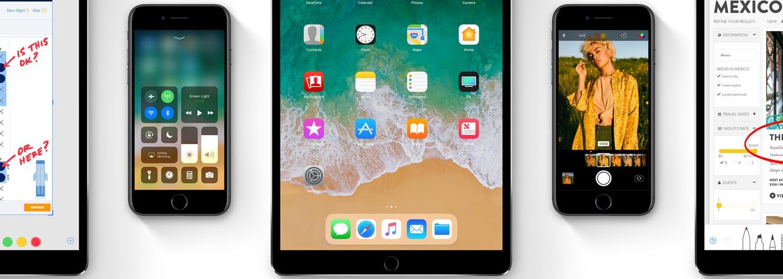 Jednoduchšie používanie iPhonu v jednej ruke, ale aj hlbšia integrácia 3D Touch. Aké novinky prinesie iOS 11?