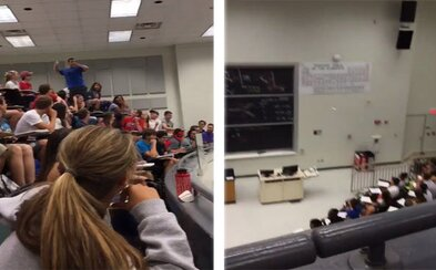 Jedným epickým hodom papierovou loptičkou zariadil pre celú triedu 100-percentné hodnotenie z testu. Vinny sa vďaka trefe stal hrdinom