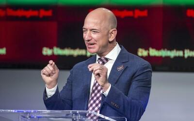 Jeff Bezos vydělal za den 13 000 000 000 dolarů, vytvořil nový rekord