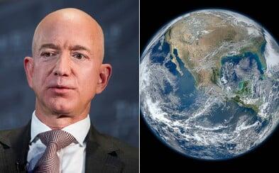 Jeff Bezos založí nadaci na záchranu planety, vloží do ní 10 miliard dolarů