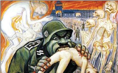 Jeho maľby pekla nacistických táborov stále vyrážajú dych