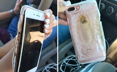 Jej iPhone 7 vybuchol a začalo sa z neho dymiť. Apple už začalo vyšetrovať, čo spôsobilo nebezpečný incident ich vlajkovej lode