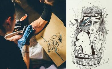 Jej plátnom je ľudská koža. Petra Žiačková je talentovaná tatérka, ktorá je vyhľadávanou umelkyňou (Rozhovor)