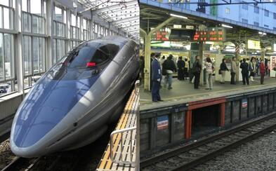 Její vlak odjel o 25 sekund dříve. Japonská firma se hluboce omlouvá za chování, které nemá v místní společnosti co dělat