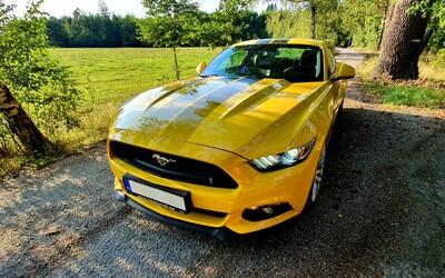 Jeli jsme v brutálním Fordu Mustang do McDonald's. Tímto autem snů se můžeš projet i ty (Testovačka)