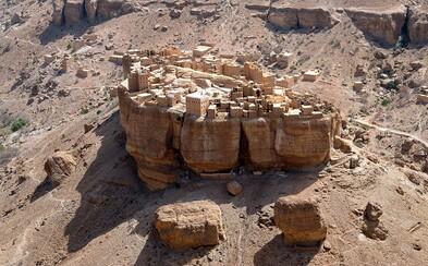 Jemenské mestečko stojace na vrchole balvanu túži po vode. Nenašiel by si tam totiž stále rieky