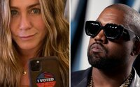 Jennifer Aniston odkazuje svojim fanúšikom, že nie je vtipné hlasovať za Kanyeho v prezidentských voľbách