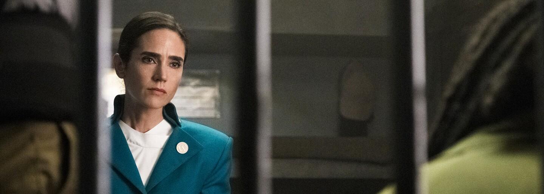 Jennifer Connelly je šéfkou vlaku Snowpiercer s poslednými zbytkami civilizácie