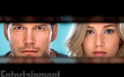 Jennifer Lawrence a Chris Pratt nabízejí netradiční pohled na život na vesmírné lodi