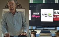 Jeremy Clarkson hviezdi v novej reklame od Amazonu a neodpustil si štipľavú poznámku na adresu BBC