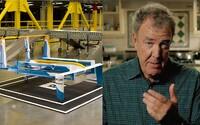 Jeremy Clarkson nám v ďalšej perfektnej reklame približuje službu Amazon Prime Air, doručovanie zásielok pomocou dronov