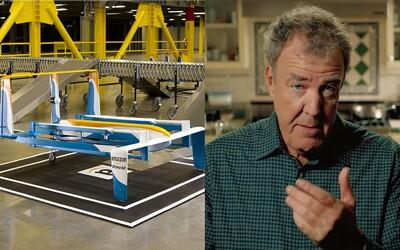 Jeremy Clarkson nám v další perfektní reklamě přibližuje službu Amazon Prime Air, doručování zásilek pomocí dronů