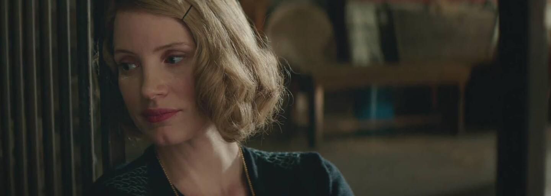 Jessica Chastain ukrýva židov vo svojej zoo počas 2. svetovej vojny v dráme The Zookeeper's Wife