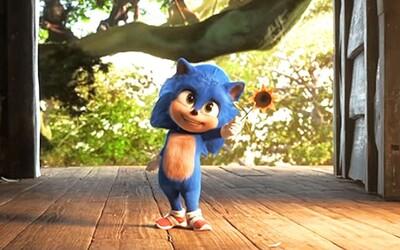 Ježek Sonic ukázal svou dětskou verzi