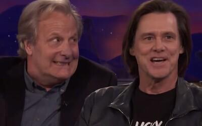 Jim Carrey a Jeff Daniels z komédie Blbý a blbší sa po rokoch stretli v talk-show Conana O'Briena, kde porozprávali o svojom priateľstve