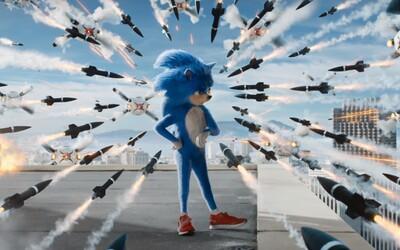 Jim Carrey naháňa nedostihnuteľného ježka Sonica v traileri plnom hlášok a rýchlej akcie