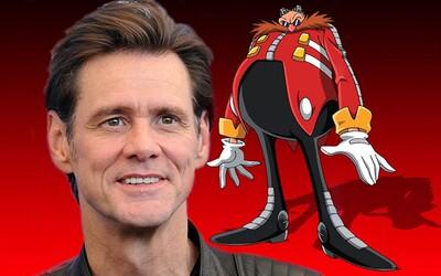Jim Carrey si zahrá v adaptácii kultovej videohry Sonic the Hedgehog. Stvárniť by mal záporáka menom Robotnik