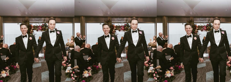 Jim Parsons sa po 14 rokoch randenia zosobášil so svojím priateľom Toddom. Magická svadba obľúbeného herca sa odohrala v americkom New Yorku