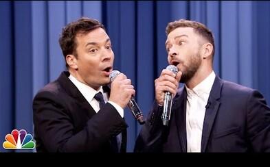 Jimmy Fallon a Justin Timberlake nás už po šiestykrát učia históriu rapu