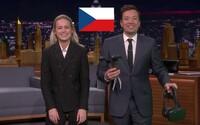 Jimmy Fallon si zahrál českou VR hru spolu s herečkou z Avengers Brie Larson