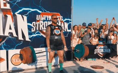 Jiří Tkadlčík překonal světový rekord! Nejsilnější muž světa ve své váze zdolal 406 kilo na mrtvý tah