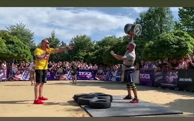 Jiří Tkadlčík to dokázal! Vyhrál další titul pro nejsilnějšího muže Evropy ve své váze