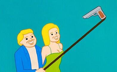 Joanovy kontroverzní ilustrace plné nechutného humoru zobrazují dnešní společnost v jiném světle