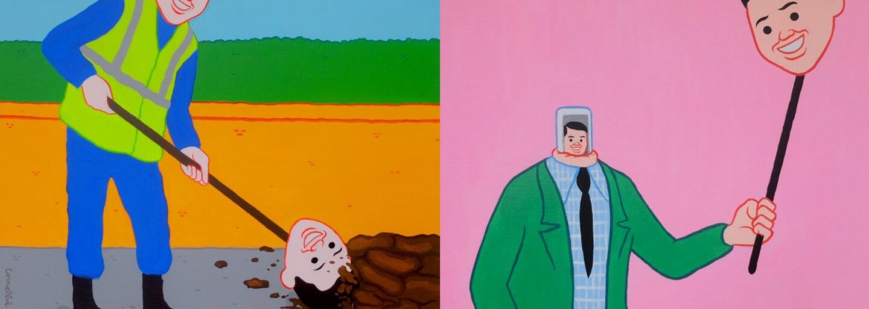 Joanove kontroverzné ilustrácie plné nechutného humoru zobrazujú dnešnú spoločnosť z iného svetla. Všade striehnu nepríjemné prekvapenia a pretvárka