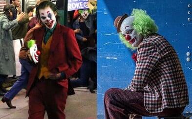 Joaquin Joker Phoenix pôsobí na nových záberoch z vystrašeného metra dojmom pravého kráľa zločinu