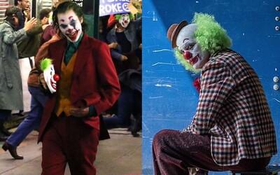 Joaquin Joker Phoenix působí na nových záběrech z metra dojmem pravého krále zločinu