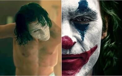 Joaquin Phoenix zhubl kvůli postavě Jokera 24 kilogramů