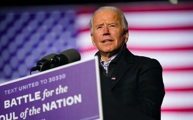 Joe Biden byl zvolen prezidentem USA