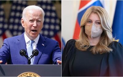 Joe Biden na Slovensku? Čaputová pozvala amerického prezidenta na návštevu, bol by to vraj veľký úspech
