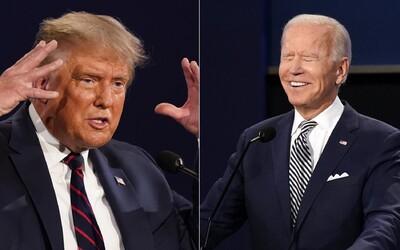 Joe Biden vyzval Donalda Trumpa, aby si zavrel ústa a nazval ho rasistom. Kandidáti na prezidenta USA bojovali pred kamerami