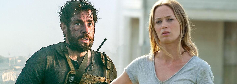 John Krasinski a Emily Blunt budú v nadprirodzenom thrilleri čeliť strašidelnej bytosti na farme, to všetko pod dohľadom Michaela Baya