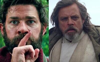 John Krasinski napíše scenár k Tichému miestu 2 a Marka Hamilla uvidíme aj v 9. epizóde Star Wars