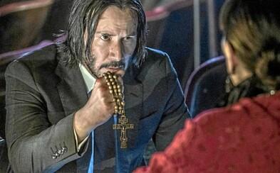 John Wick 5 je skutočnosťou! Keanu Reeves natočí štvrtý a piaty diel hneď po novom Matrixe