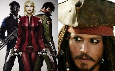 Johnny Depp bude produkovať seriál o cestovaní v čase a tajných agentoch bojújucim proti mýtických monštrám