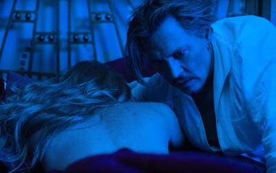 Johnny Depp hraje perverzního milence v dalším znepokojivém videoklipu Marilyna Mansona